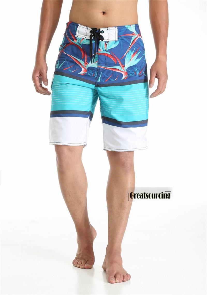 Pria Celana Pendek Cepat Kering Musim Panas Pantai Tas Untuk D 300 Bmw Merah Biru Laptop Bly 394 Papan Cetak Striped Serut Boardshort