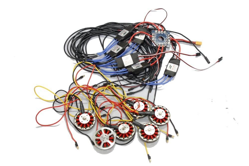 F04997-E JMT Assembled Kit : 40A ESC Controller 750KV Motor ...