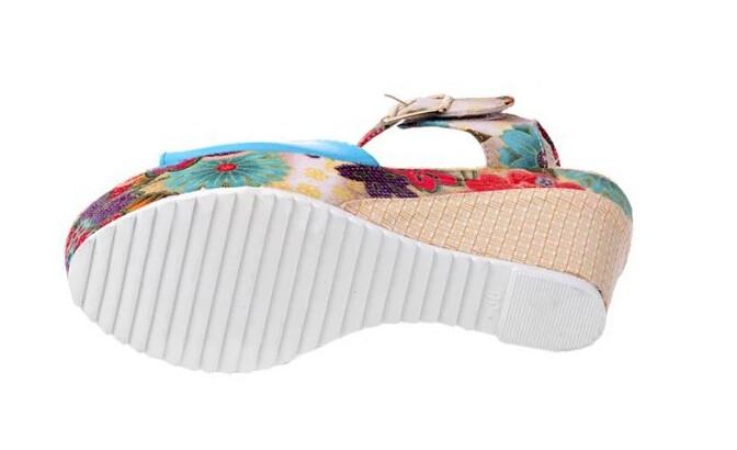 ac17e3d1a57 HEE BESAR Sandal Jepit Wanita Musim Panas Sandal Wedge Pompa Berlian Imitasi  Manik-manik Rami Bohemia Pantai Wanita Sepatu Gaya XWT300USD 33.98 pair ...