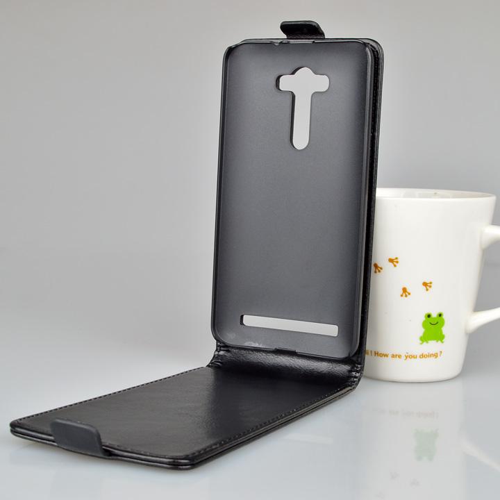 עבור Asus Zenfone 2 לייזר ZE550KL ZE551KL מקרה 5.5 אינץ מותג יוקרה באיכות גבוהה עור PU כיסוי להגן על העור מתקפל תיק