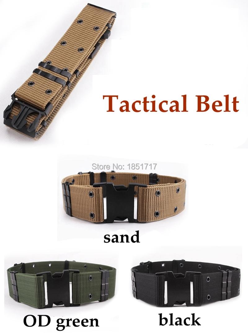3 Warna Pria Kanvas Olahraga Sabuk Pengaman Taktis Militer Qampampq Resin Analog Jam Tangan Wanita Hitam Strap Karet Vq04j010y 55mm