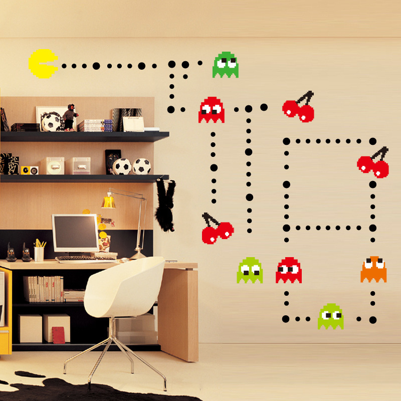 Pacman Wall Stickers