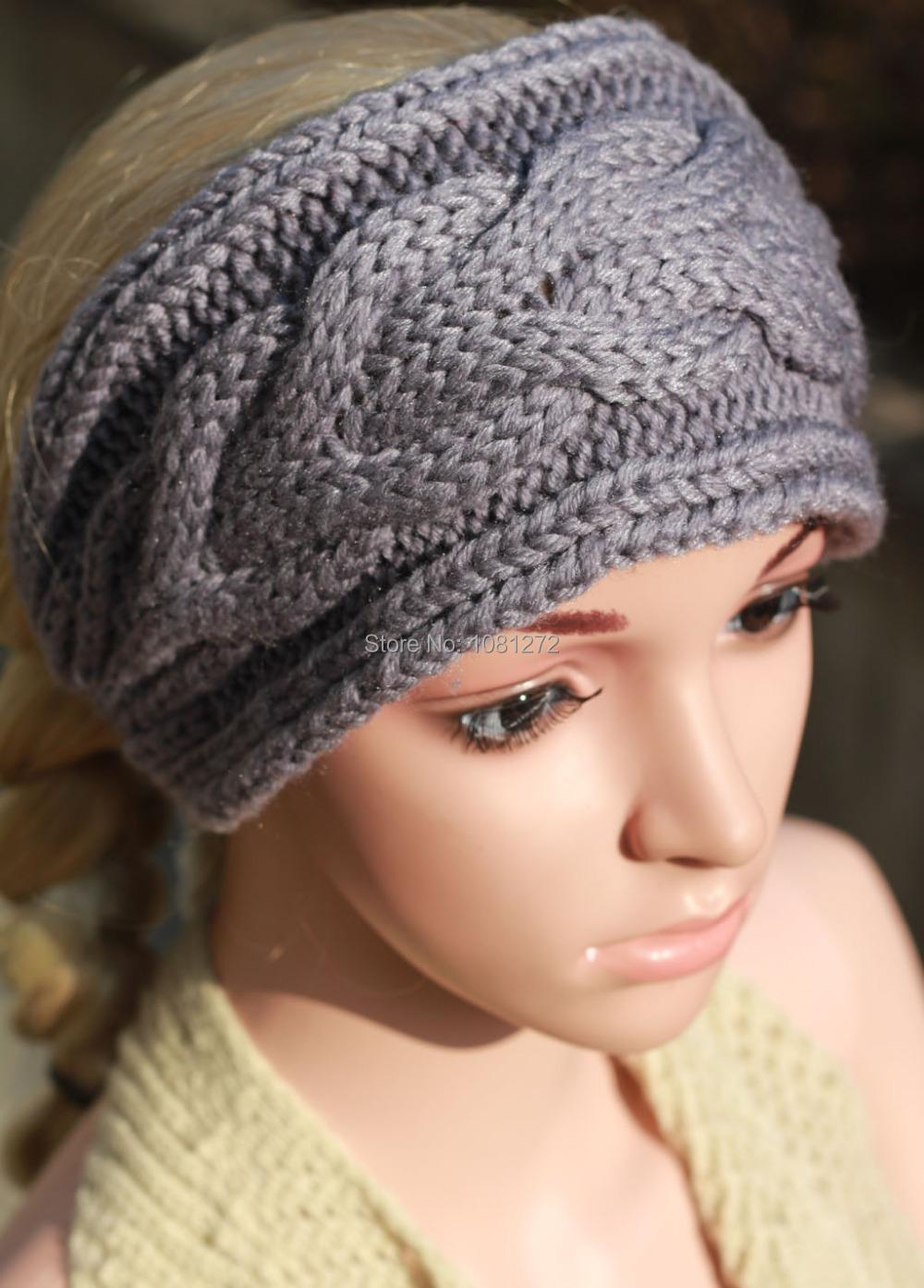 Fantastic Head Wrap Knitting Pattern Illustration - Sewing Pattern ...