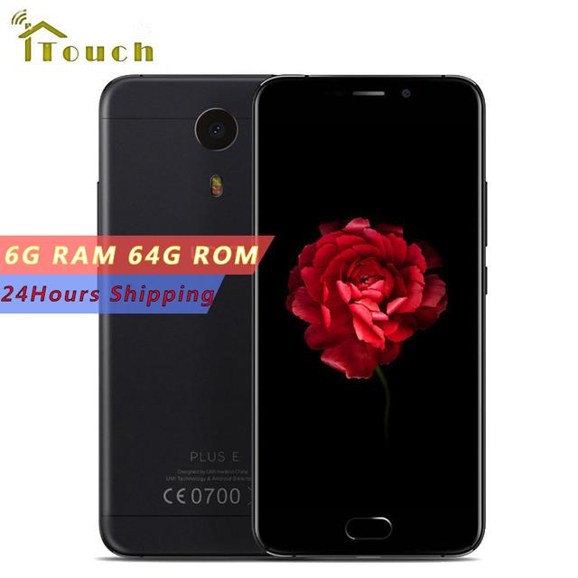 Original Umi Plus E Helio P20 MTK6757 2.3GHz Octa Core 5.5 Inch FHD Screen Android 6.0 6GB RAM 64G ROM 4000mAh 4G LTE Smartphone