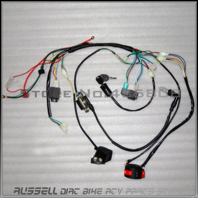 cc atv wiring harness cc image wiring diagram baja 50 atv wiring harness diagram baja auto wiring diagram on 110cc atv wiring harness