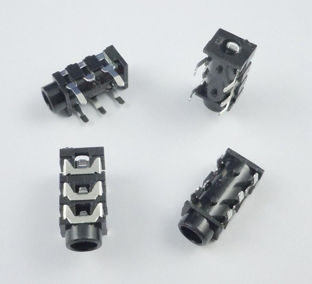 Rca 3 Connector Socket 5mm Av