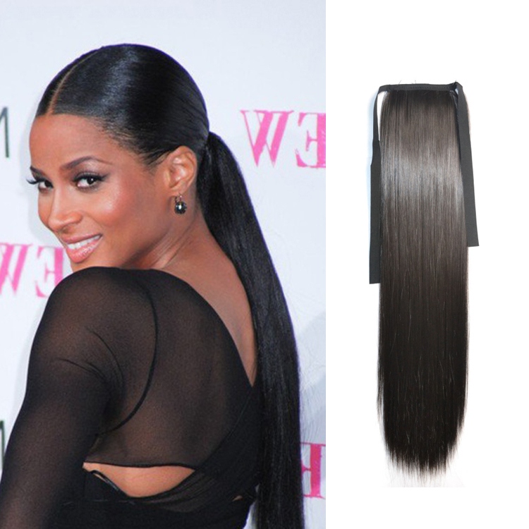 aliexpress ponytail hairpieces for women synthetic hair ponytails extension straight