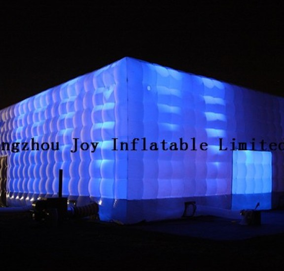 15x30m-cube-night_ 15lx15wx6hm inflatable oxford cube white wedding tent with 16 color led light 15LX15WX6HM Inflatable Oxford Cube White Wedding Tent with 16 color LED Light HTB1kT5kNVXXXXXgXpXXq6xXFXXX6