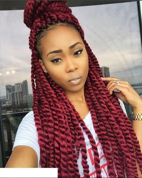 1000 Ideas About Senegalese Twists Purple On Pinterest