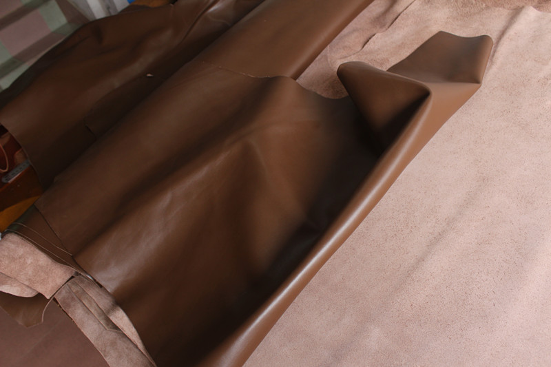Darkish brown easy head layer cowhide leather-based handmade DIY leather-based pockets leather-based imported leather-based thickness of 1.four mm HTB1mwQ4KFXXXXb2XpXXq6xXFXXXR