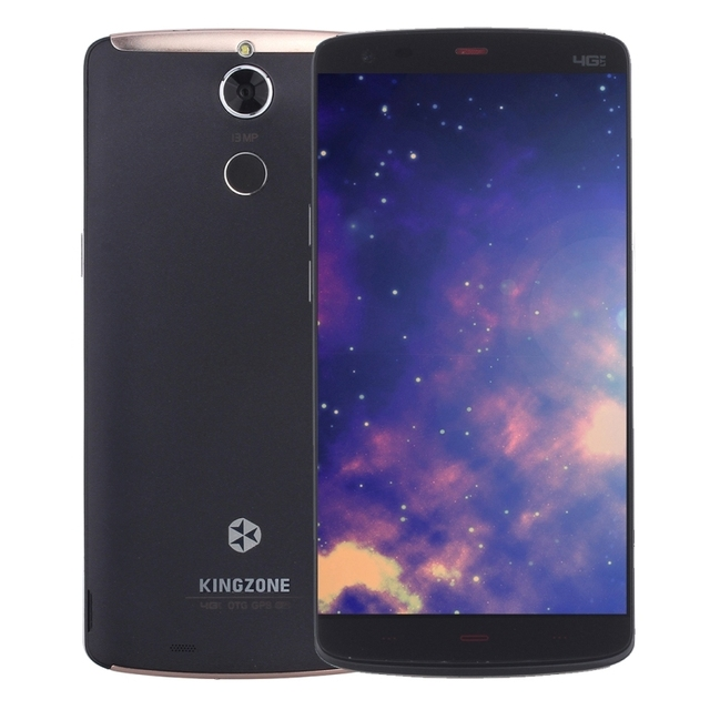 KINGZONE Z1 Plus 4G Smartphone 2GB RAM 16GB ROM 5.5 inch Android 5.1 MT6753 Octa Core OTG Dual SIM 2900mAh Battery 13MP