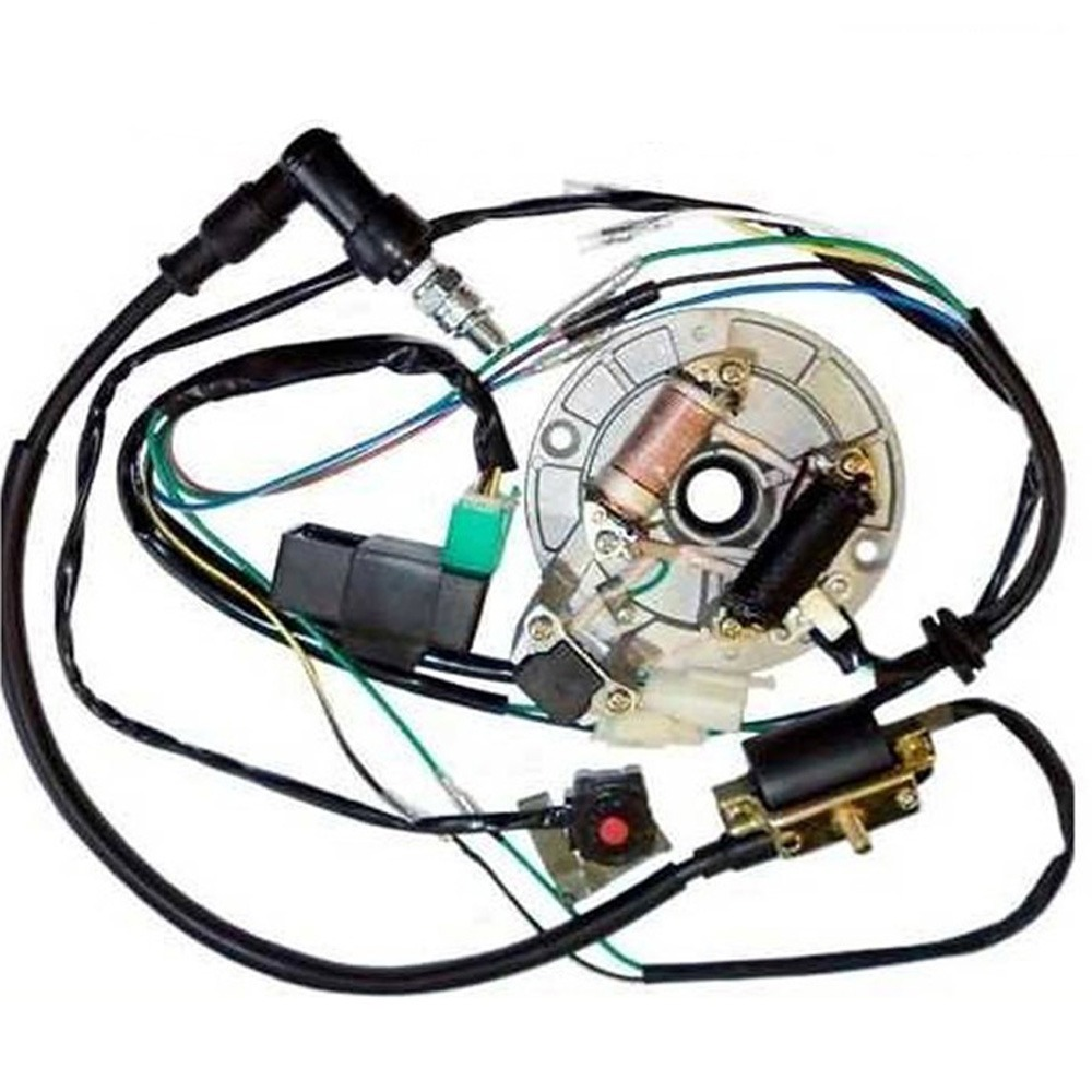 TDR Moto Engines 50 125cc Kick Start Dirt Pit Bike Wire Harness Wiring Loom CDI Coil?resize\=640%2C640 kick start wiring diagram kick start cdi wiring diagrams \u2022 wiring auto electrical wiring diagrams at honlapkeszites.co