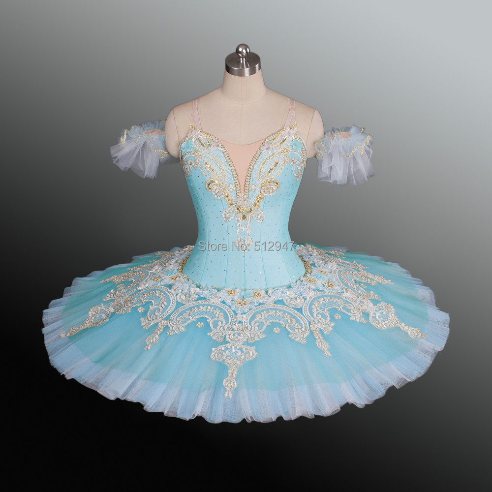 Blue And Gold Ballet Tutus