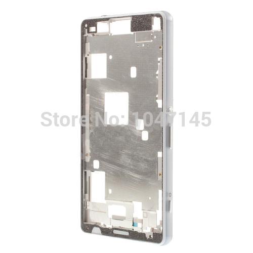 עבור Sony Xperia Z3 Compact Z3 מיני D5803 D5833 מקורי החלפת מסך LCD קדמי דיור מסגרת לוח צלחת התיכון מארז דיור