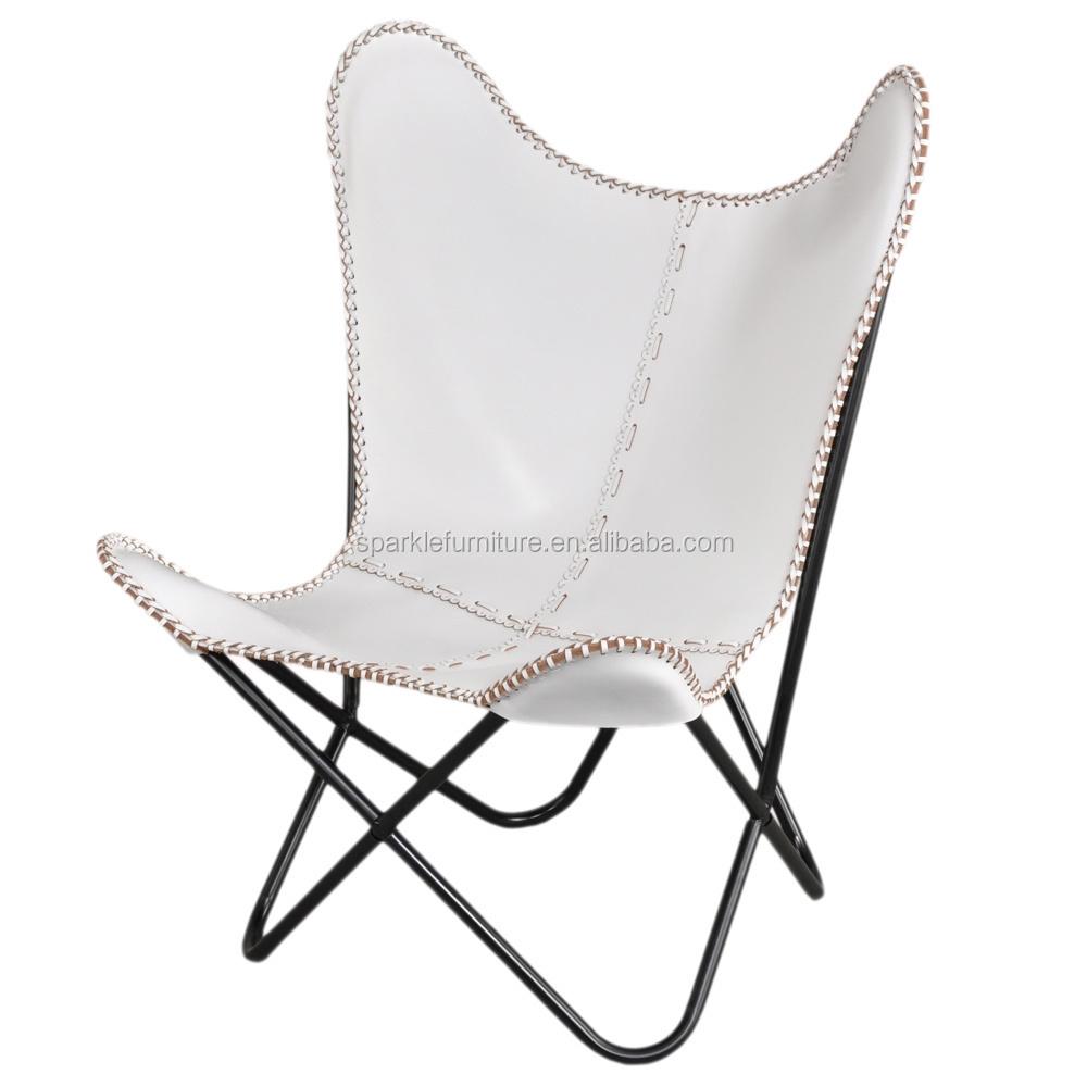 Hardoy Papillon Chaise Avec Cadre En Acier Inoxydable Bkf