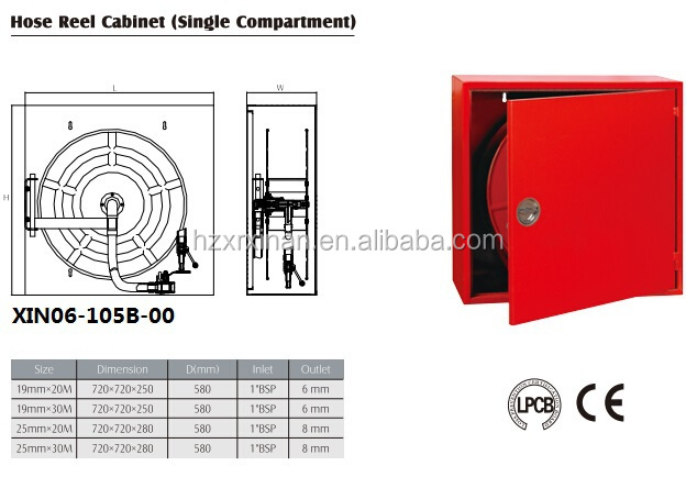 Ce Approved Fire Hose Reel Cabinet Xin06 105b 00detail Jpg