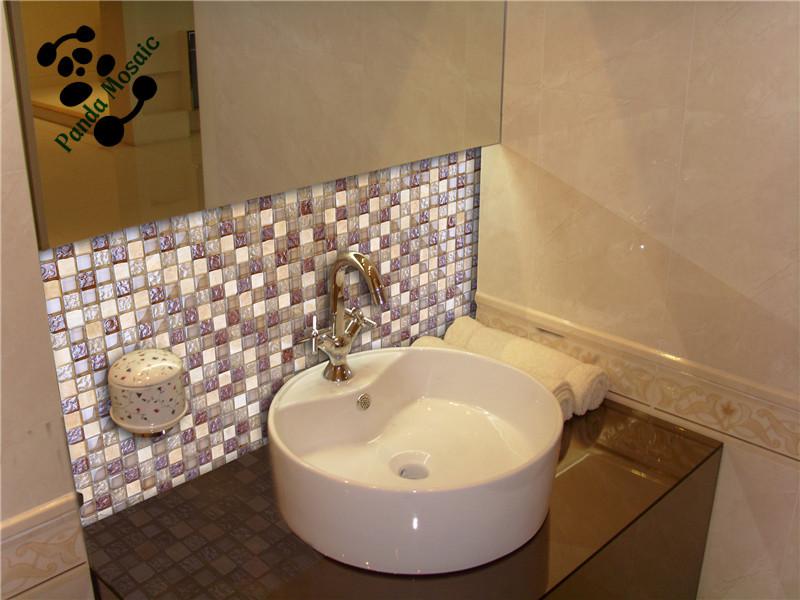 Mb Sms08 Interior Mixed Mosaic Backsplash Wall Tile Stone