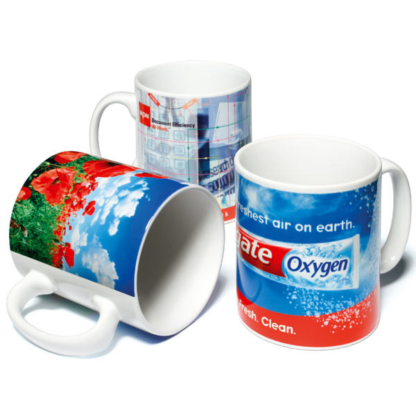 Wholesale 11oz White Ceramic Coffee Mug Promotional ...