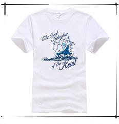 ̿̿̿(•̪ )2017 Baru Mens Musim Panas Jangkar Dicetak Katun t shirt ... 5fdfa58007
