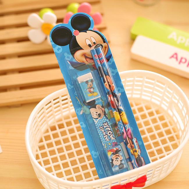 2622122659_1758922470  10packs/lot 5 in One Disny Mickey Snowwhite Kitty Pencil Writing Pen Stationery Kits Children Birthday Occasion Favor Take-home Items HTB17VKHNpXXXXbbapXXq6xXFXXXv
