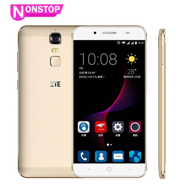 "Original ZTE Blade A2 Plus Mobile Phone Dual SIM 5000Mah 5.5""FHD Octa Core 3/4G RAM 32GB ROM Android 6.0 Metal Body FingerPrint"