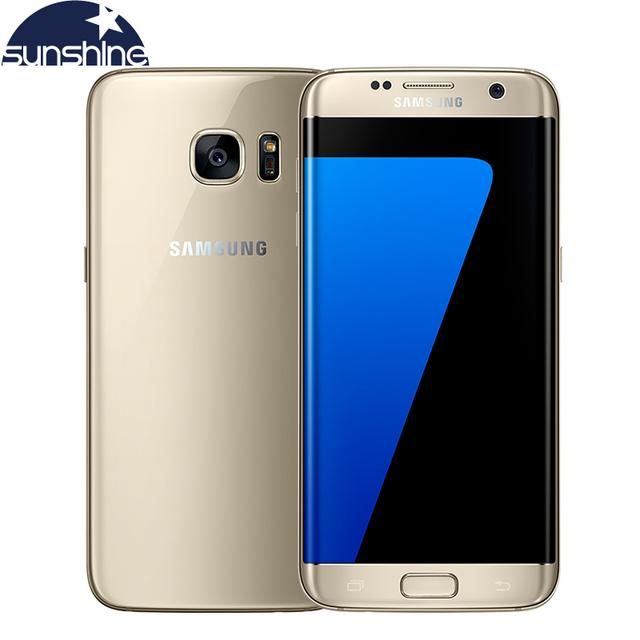Original Samsung Galaxy S7 Edge 4G LTE Mobile Phone Octa Core 5.5 inch 12.0 MP 4GB RAM 32GB ROM NFC Waterproof Smartphone