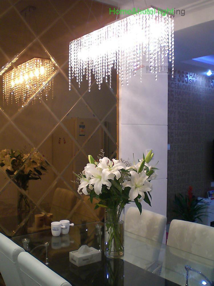 Rectangular Dining Room Light