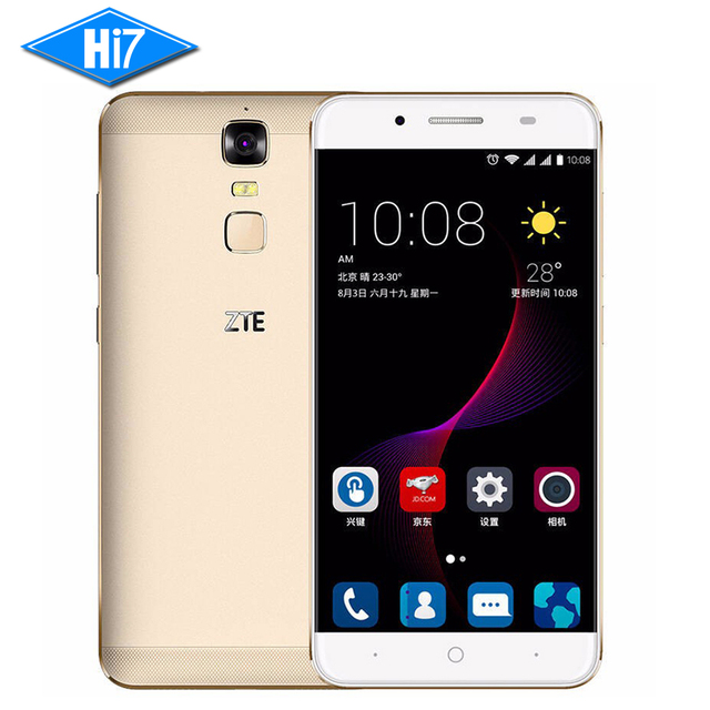 "Original ZTE Blade A2 Plus Mobile Phone Dual SIM 5000Mah 5.5""FHD Octa Core 4G RAM 32GB ROM Android 6.0 Metal Body FingerPrint"
