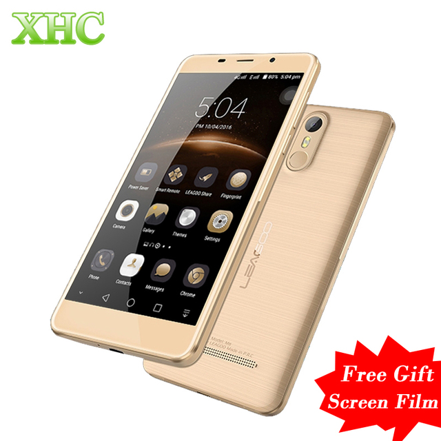 LEAGOO M8 16GB WCDMA 3G Smartphone Fingerprint 5.7''2.5D Freeme 6.0 MTK6580A Quad Core 1.3GHz RAM 2G Dual SIM 13MP 3500mAh Phone