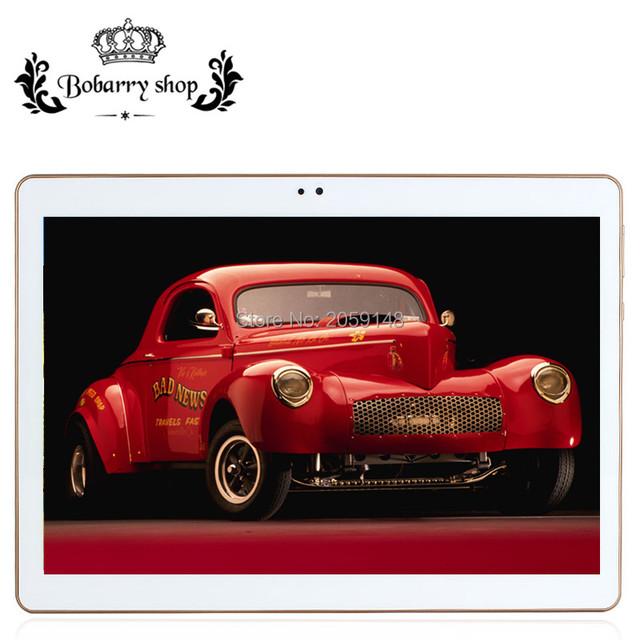 10.1 дюймов Оригинальный 4 Г Телефонный Звонок СИМ-карты Android 5.1 Окта Core K107SE Wi-Fi GPS FM Tablet pc 4 ГБ + 128 ГБ Anroid 5.1 Tablet пк