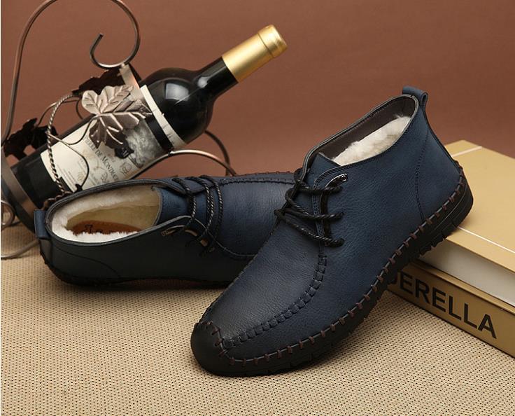 ᑎ‰Keluar kualitas tinggi musim dingin baru pria sepatu salju pria ... 77fbc276e0