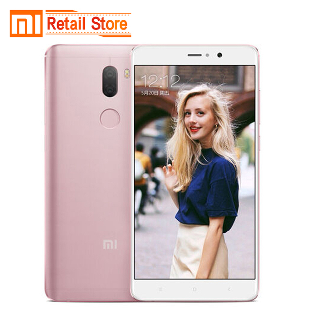 Original Xiaomi Mi5s Plus 6GB RAM 128GB ROM Mi 5s Plus 4G Smartphone Snapdragon 821 Quad Core 5.7'' 13.0MP Duo Camera 3800mAh