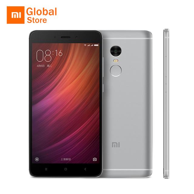 """Original Xiaomi Redmi Note 4 Pro Prime 3GB RAM 64GB ROM Mobile Phone MTK Helio X20 Deca Core 5.5"""" FHD 4100mAh 13MP Camera"""
