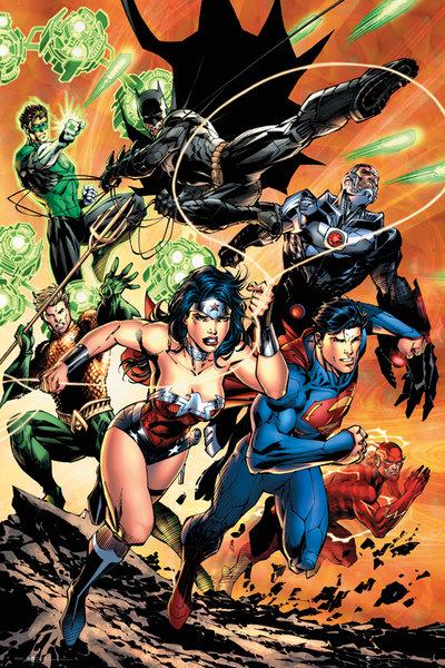 Poster do filme Liga da Justiça da América