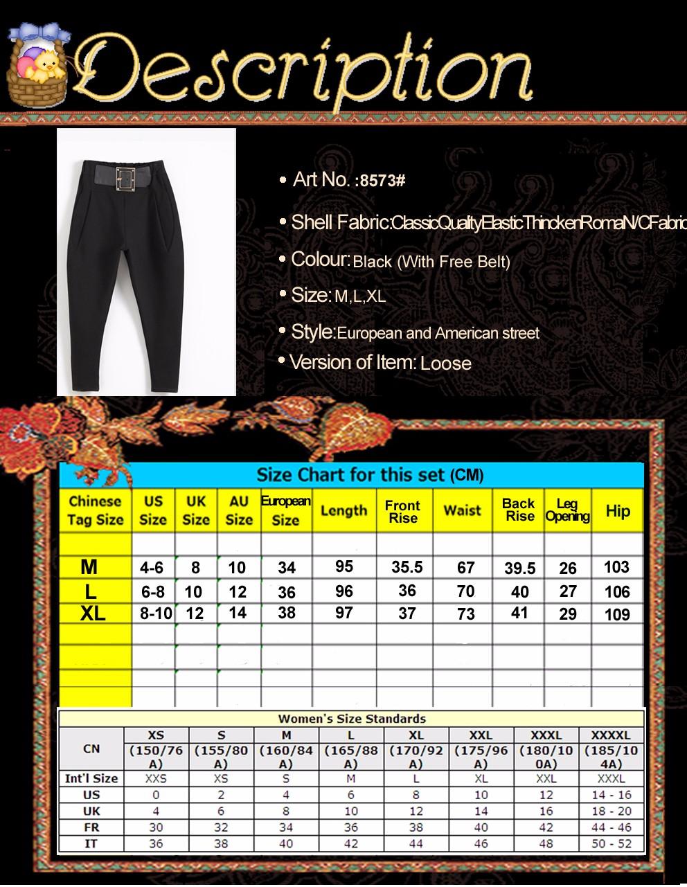 2016 feminina musim gugur masuknya celana hip hop celana kaki harlan versi  korea celana setelan hitam kasual pantalon femme 1acc1b277a0e