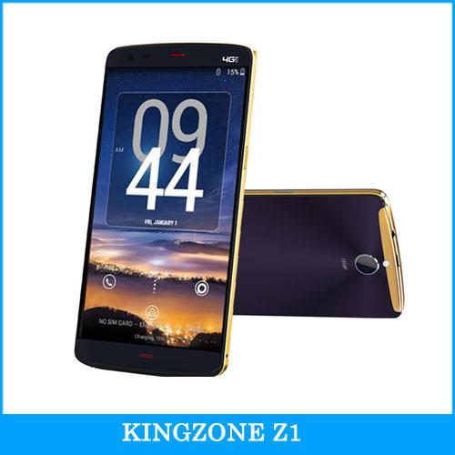 "Original 4G KINGZONE Z1 5.5"" Android 4.4 Smartphone MTK6752A Octa Core 1.7GHz ROM 16GB+ RAM 2GB Dual SIM Support OTG NFC FDD-LTE"