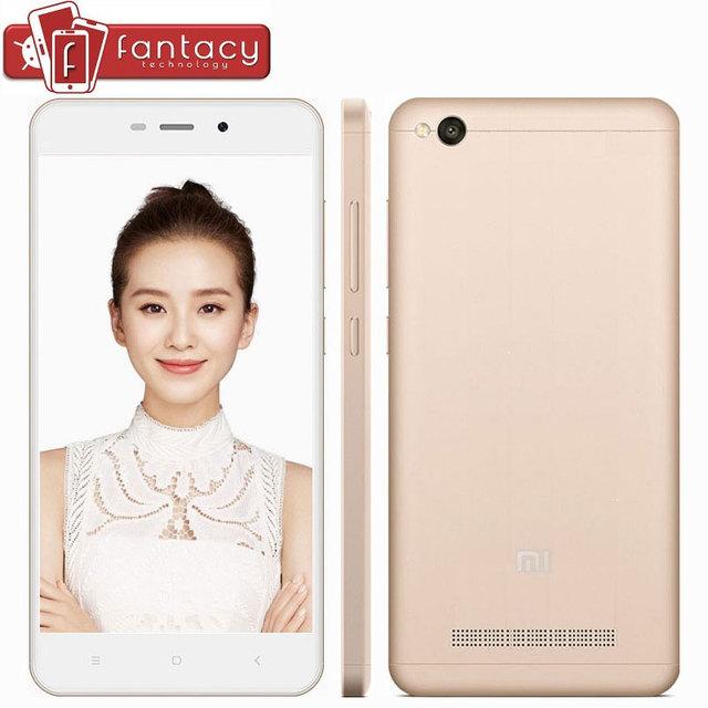 "Original Xiaomi Redmi 4A Snapdragon 425 Quad Core 2G RAM 16G ROM FDD LTE 4G 5"" 13MP 1280x720p MIUI 8.1 OTA Mobile Phone"