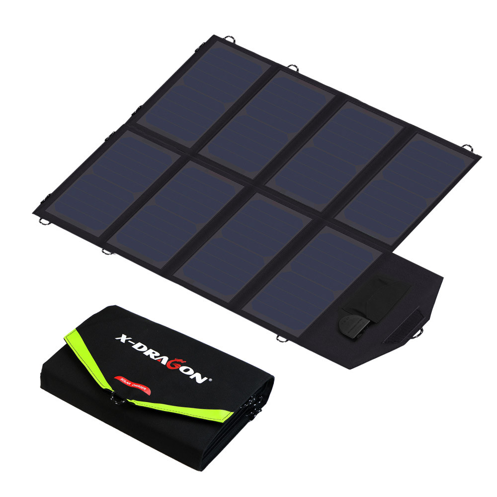 40W מטען סולארי נייד פאנל סולארי מטען לאייפון Samusng Huawei Xiaomi בלקברי, iPad של Dell, HP, Acer, Lenovo, Hp ועוד.