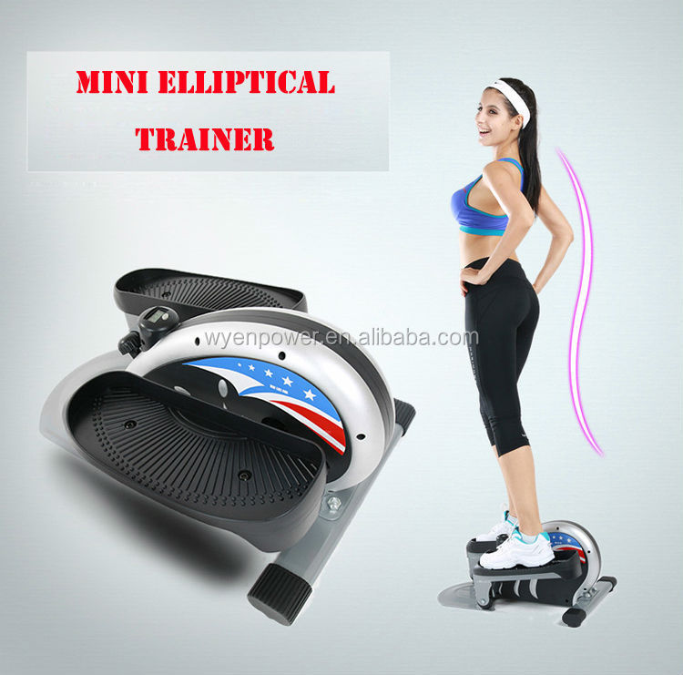 Low Impact Aerobic Workout Firms Mini Elliptical Trainer