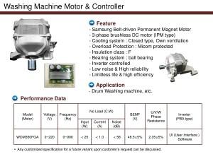 Washing Machine Motor & Controller  Buy Motor For Washing