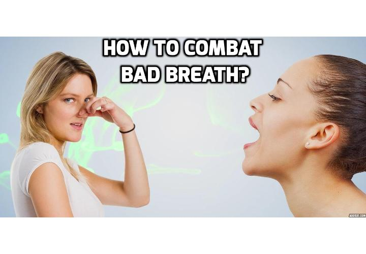 Does mouthwash eliminate a bad oral odor? Bad oral odor, also called halitosis, is often the result of poor oral hygiene. Without regular cleaning, food particles and bacteria can accumulate around your teeth, tongue, and gums. Once this debris begins to rot, it gives off an unpleasant smell whenever you speak or exhale.