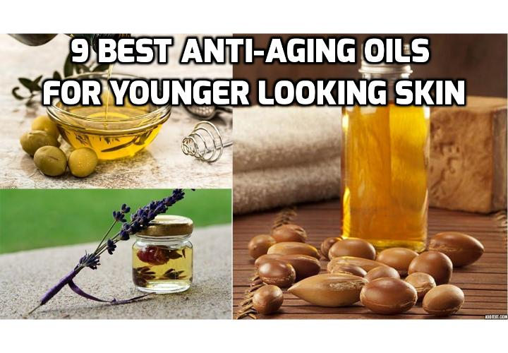 Here are the 9 best anti-aging oils for younger looking skin - In order to maintain the optimal look of the younger looking skin, you need to replace the lack of oils with other natural oils in order to keep it moisturized and smooth. Here are the 9 best anti-aging oils for younger looking skin.