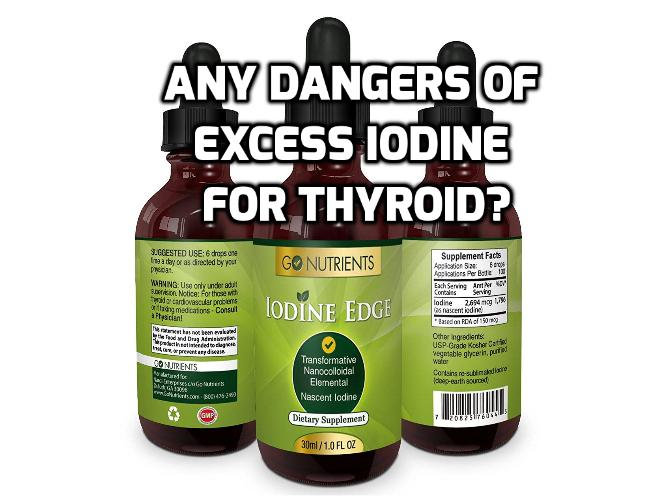 3 Dangers of Iodine Therapy for Hypothyroidism - It is well known that the thyroid gland requires iodine to produce thyroid hormone. But few people understand the potential dangers of iodine therapy and excessive iodine consumption. Read on to find out more.