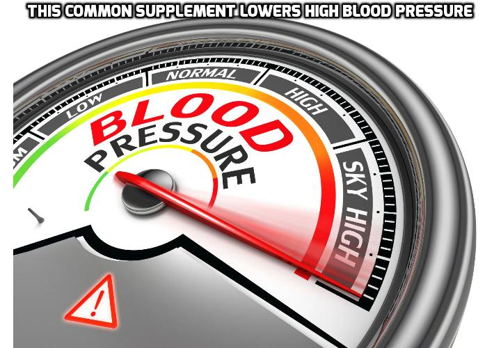 This Common Supplement Can Lower High Blood Pressure Risk - Amazing results from a study conducted by Brigham and Women's Hospital in Boston reveals that the use of this common vitamin can lower high blood pressure risk. This supplement is usually prescribed to young child-bearing age women, as it is proven to prevent birth defects. However, according to this new research, we should all be taking this incredibly powerful supplement to avoid high blood pressure. Read on to find out more.