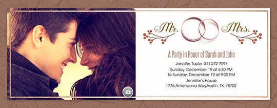 Digital Party Invitations