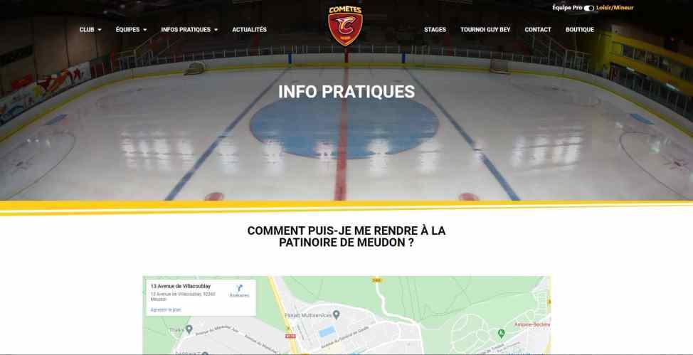 Meudonhockeyclub Info Pratique