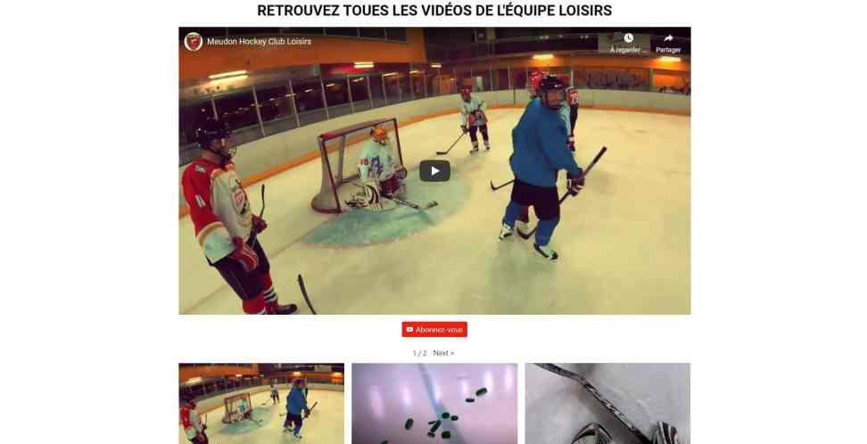 Meudonhockeyclub Video