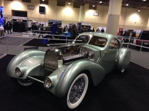 There were also restored cars. Do you recognize this one from The Guild?