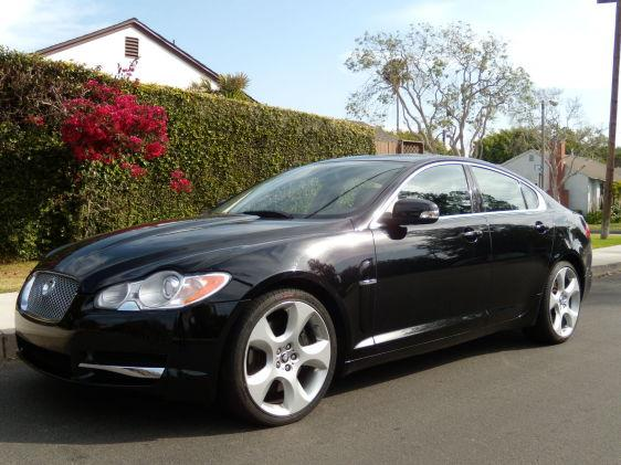 08 Supercharged Xf Jaguar