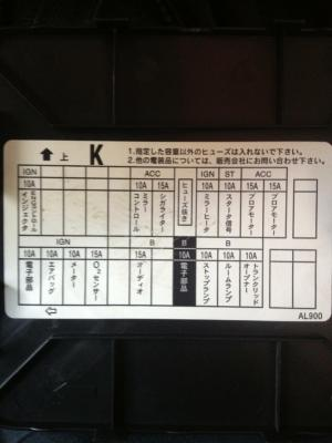 Nissan Skyline 350GT 2003 fuse box translation  G35Driver